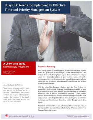 Case Study: Strategic Coach®